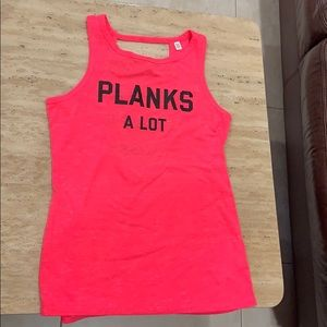 NWOT Victoria's Secret Sport Hot Pink Tank Top